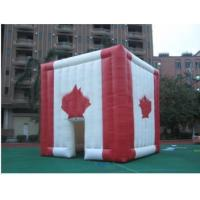 giant inflatable cube tent inflatable canada maple leaves tent