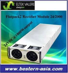 China Eltek Valere Flatpack2 24VDC/2000W Rectifier Module on sale