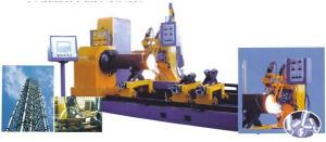 China Automatic CNC Pipe Profile Cutting Machine 5 Axis Window Based Controller on sale
