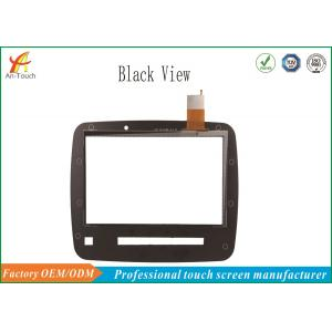 China Black 13.3 Inch Car Touch Panel IIC Connector For Car GPS Navigation on sale