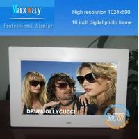 1024*600 high Resolution 10 inch photo frame digital