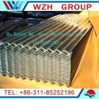 China 0.13-0.5mm  900mm galvanized corrugated steel sheet as roofing materials on sale