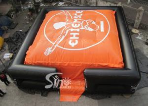 China 10x10m Outdoor Big BMX Inflatable jump air bag for outdoor stunt trainning on sale
