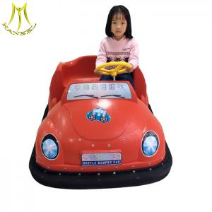 China Hansel indoor playground amusement park games electric children battery electric car on sale