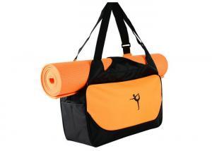 China Heavy Duty Oxford Custom Sports Backpacks , Water Resistant Yoga Gym Bag on sale