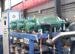 China Parallel Air Cooled Screw Chiller , Semi-hermetic Industrial Water Chiller on sale