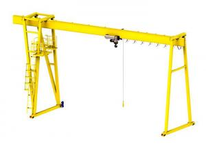 China Best selling safety standard single beam gantry crane with best price on sale