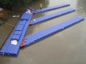 Quality HDPE float pontoon for pontoon boat for sale