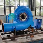11-40m Head Micro Hydro Turbine Generator Horizontal Or Vertical Installation Micro Francis Hydro Turbine Generator