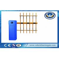 100% Heavy Duty Blue Automatic Vehicle Barrier Gate Driveway Barriers OEM Service