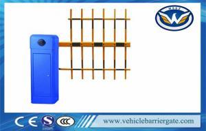 China Servicio automático azul resistente del OEM de las barreras de la calzada de la puerta de la barrera del vehículo del 100% on sale
