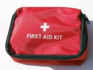 China Portable First Aid Kit Red Medical Doctor Bag on sale