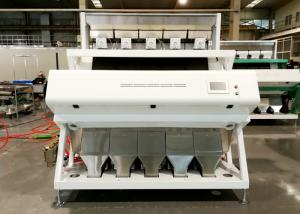 China Intelligent Wheat Color Sorter Machine Wheat Cleaning Machine 5 Channels on sale