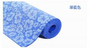 China 6MM PVC Fitness Gym Exercise Yoga Mat with printing ,yoga mat for professional trainer, eco pvc yoga mat on sale on sale