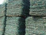 Плетение провода нержавеющей стали шестиугольное
