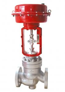 China Low Noise Globe Control Valve on sale