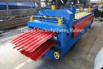 Hydrauli Cutting Metal Roll Forming Machine Double Layer For Roof