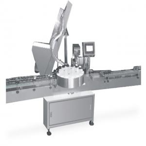 China 304 Stainless Steel Automatic Packaging Machine Pressure Capping Machine on sale