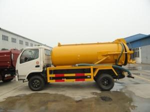 Waste water suction truck , Sewage vacuum truck Septic water