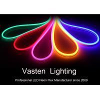 China Mini LED Neon Flex Strip Lights 12V Input Decorative Waterproof Color Jacket Flexible Led Neon Light on sale