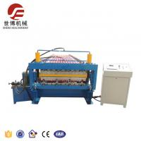 Color Steel Galvanized Metal Roof Forming Machine Double Layer Hydraulic Cutting System