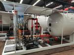10 Tons 20m3 20000 Liters LPG Skid Plant With ATEX