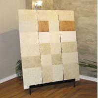 Sturdy Slab Stone / Ceramic Tile Display Racks With Steel Tube