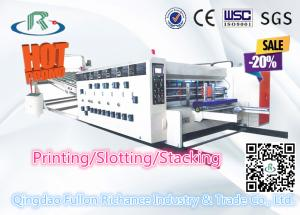 China Hot Sale Multicolor Flexo Semi-Automatic Printer Slotter Die Cutting Machine on sale