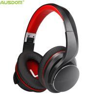 China Ausdom NEW AH3 Over Ear Foldable Lightweight Apt-X Low Latency Deep Bass Durable CSR BT 4.2 Bluetooth Headphone With Mic on sale