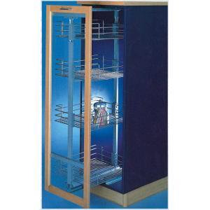 China Kitchen Drawer Blind Corner Magic Basket Cabinet Cupboard Kitchen Pantry Cabinet GZ-H168-40A on sale