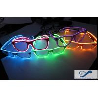 Popular El Wire Glasses Diffraction Effect Lens For Watching Fireworks