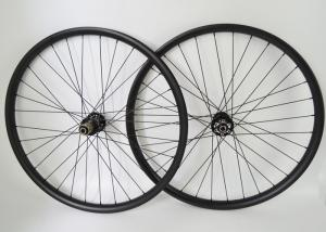 China T700 29er Carbon MTB Wheels 30mm Width Disc Center Lock / Disc IS Compatibility on sale