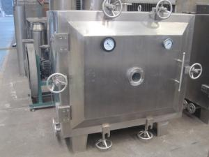 China Round Shape Vacuum Drying Machine For Pharmaceutical Industry Rotocone Vacuum Dryer on sale