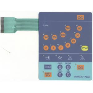 China Custom Epoxy FPC Flexible Membrane Switch Touch Panel , Metal Dome Membrane Switch on sale