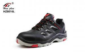 China Rubber Outsole Ladies Safety Trainers Smash Resistant For Heavy Duty Work on sale