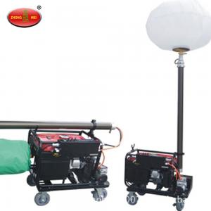 China portable lighting tower with diesel generator on sale