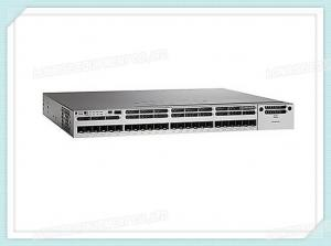 China Cisco Fiber Optic Switch WS-C3850-24XS-S Catalyst 3850 24 Port 10G IP Base on sale