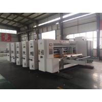 1200x2400 Flexo Printer Slotter Machine For Making Carton Box Energy Efficiency