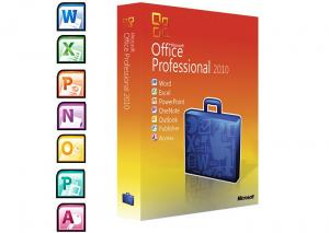 China Full Version Microsoft Windows Softwares / 2010 Professional Plus  DVD Activation on sale