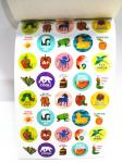 Bepoke Tiny Sticker Book Printing Service Childrens Studying Learning