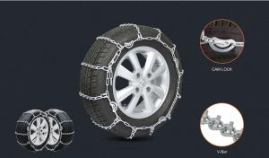 China Standard Galvanized Anti Skid Chains Carburizing Snow Tire Chains Twisted Link on sale