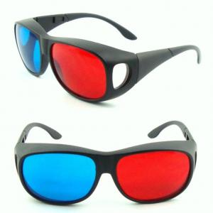 China Reusable Plastic Anaglyph 3D Glasses Video For Children Or Adult Use on sale