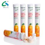 Collagen Production Vit C Effervescent Tablets , Orange Flavor Fizz Effervescent Tablets