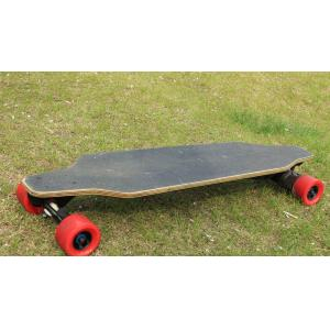 China 80 * 45mm Tire Size electric powered longboard , 20° Slope  lightweight electric skateboard on sale