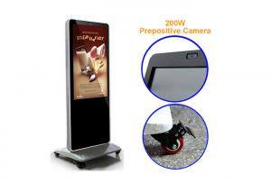 China 1080P Interactive Information Kiosk Touch Screen Monitor Built - In 500 Megapixels Camera on sale