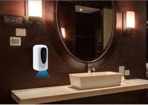 China Alcohol Touch Free Soap Dispenser Wall Mounted , Automatic Soap Dispenser Touchless on sale