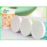 China Eco Friendly Food Grade Uncoated Paper 170 - 210 Gsm Cup Stock Paper on sale