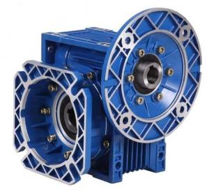 China Single Stage RV Reducer Worm Gearbox Standard Port 50Hz Frequency For Machinery on sale