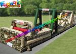 PVC Tarpaulin Inflatables Obstacle Course Military Boot Camp Challenge