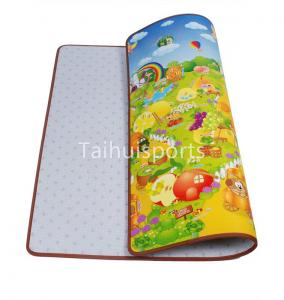 China Kids Cushioned Playmat Soundproofing / Cushioned Baby Play Mat Non Toxic supplier